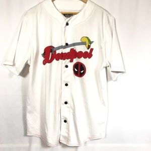 Deadpool Baseball Jersey Size Large
